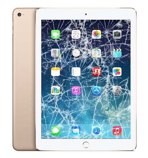 Cracked iPad Screen