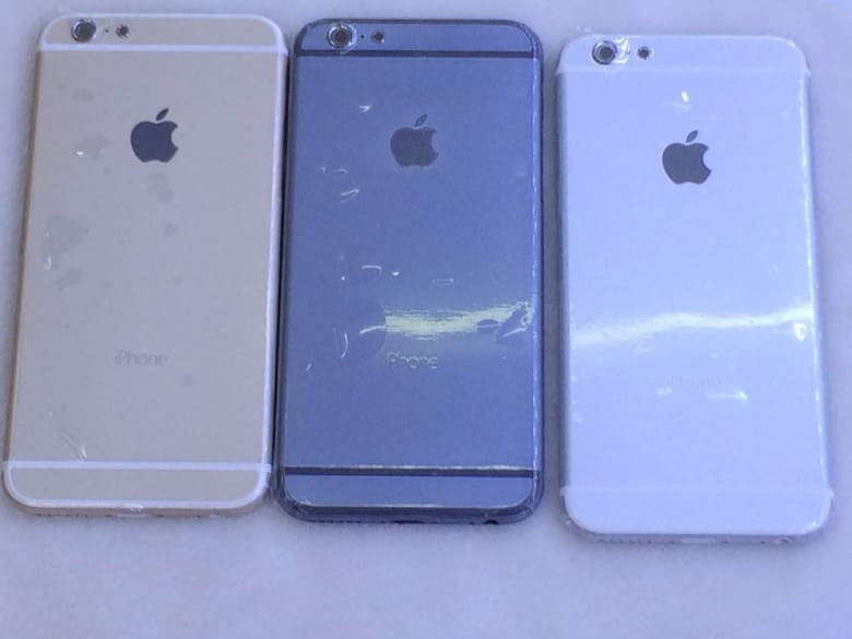iphone scratched housing