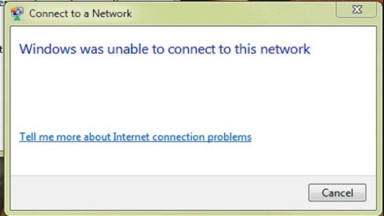 laptop wireless network issue