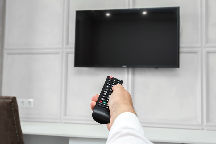 TV Turns on but No Picture